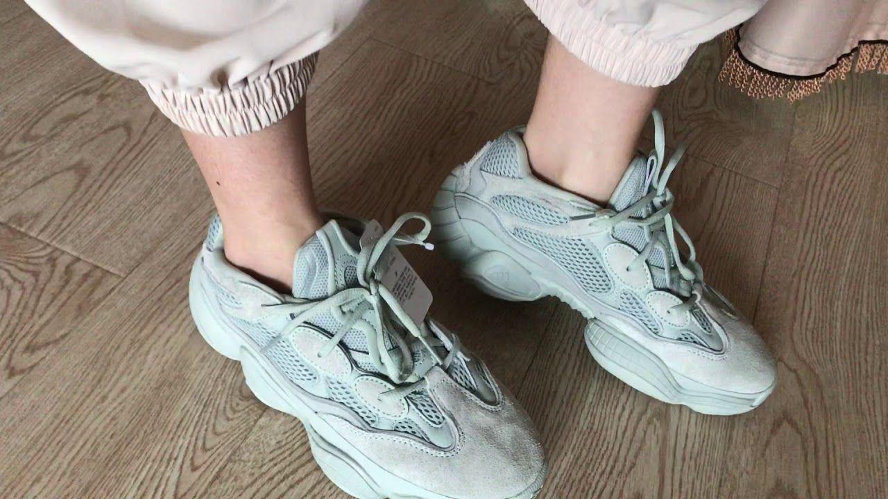 Adidas Yeezy 500 Salt On Feet Review