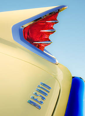 1960 DeSoto Fireflite Two-Door Hardtop Taillight Emblem by Jill Reger
