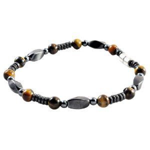 Men's Genuine Hematite Tiger Eye Beaded Bracelet, 8.5 Inches, Hematite Bracelet, Tiger Eye Bracelet (Jewelry)  http://www.amazon.com/dp/B007M2II26/?tag=iphonreplacem-20  B007M2II26