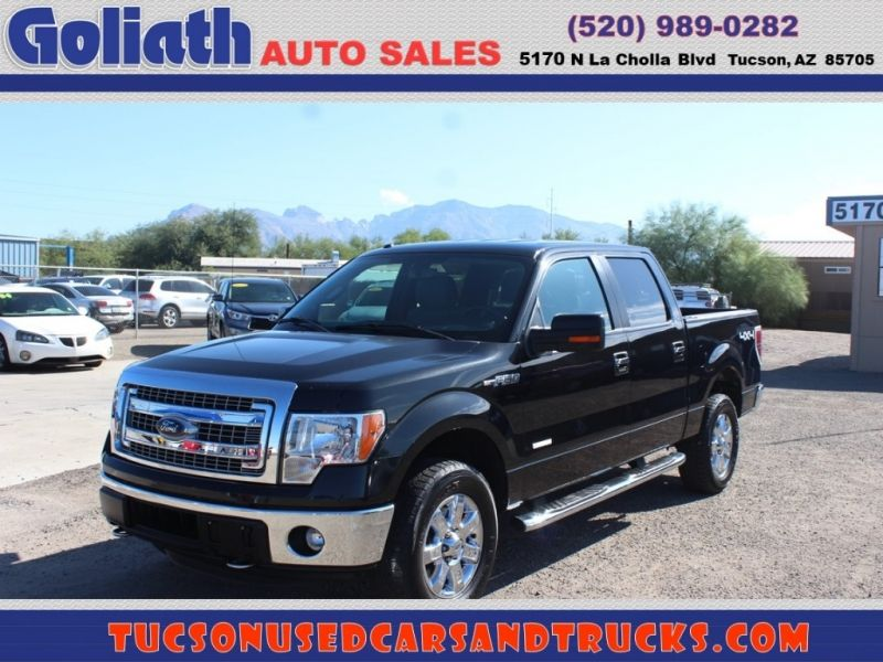 2014 Ford F150 Supercrew Goliath Auto Sales Llc Auto Dealership In Tucson Ford F150 2014 Ford F150 Cars For Sale