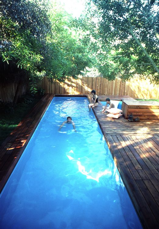 The Stevenson Projects Lap Pool Spa Diy In Ground Pool Small Pool Design Pool Patio