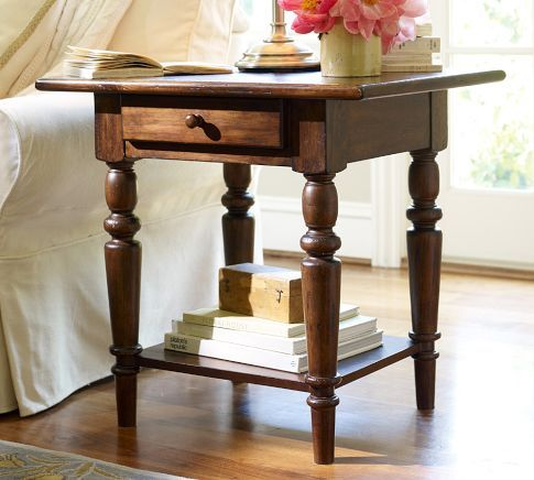 Tivoli Console Table   Tuscan Chestnut Stain | Pottery Barn