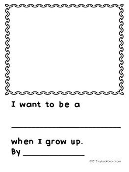 when i grow up worksheet for kindergarten when best free printable worksheets. Black Bedroom Furniture Sets. Home Design Ideas