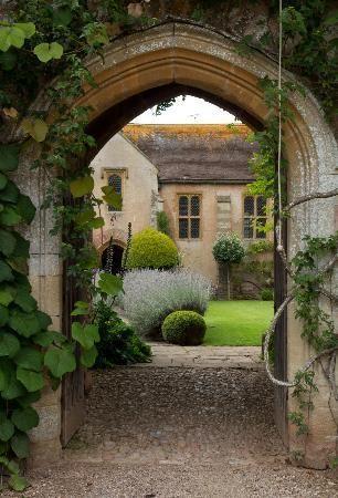 Greenham Wellington England English Garden Design Cottage Garden Landscape Design