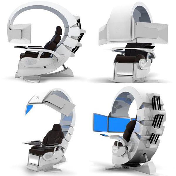 Top 10 Hi Tech Chair Designs Concepts Interiorholic