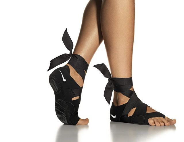 A Modular Footwear System: The Nike Studio Wrap | Great for yoga or dance