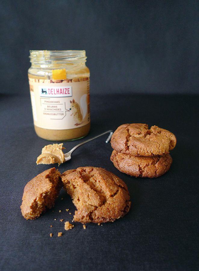Chose promise, chose due : voici des biscuits bien riches en beurre de cacahuète 🙂 (recette en images)