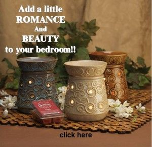 Scentsy wickless candles are low-priced and come in a multitude of shapes and colors, and are ready to go on at the push of a button.