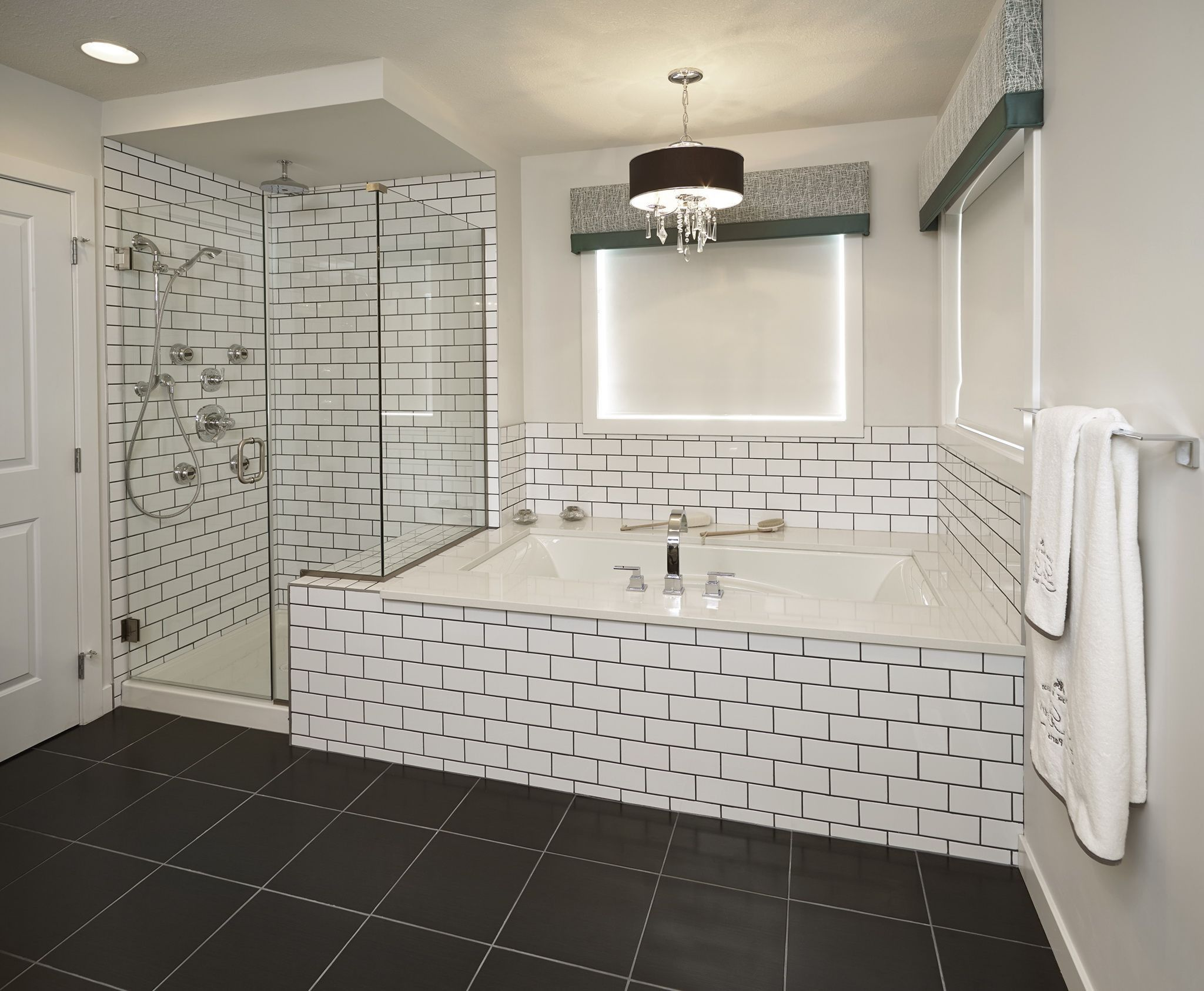 Enchanting Bathrooms With Subway Tiles White Subway Tile Shower Bathroom Tile Designs Bathtub Tile