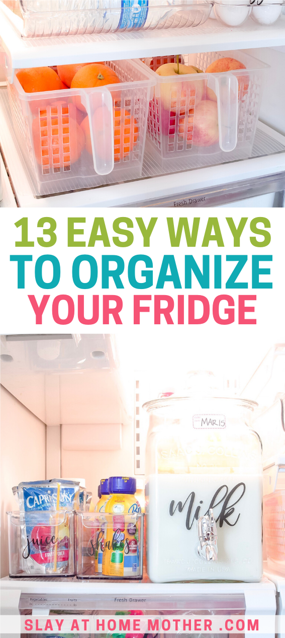 how to organize your fridge 13 simple ideas to transform on fast and easy ways to refresh your home on a budget id=72642
