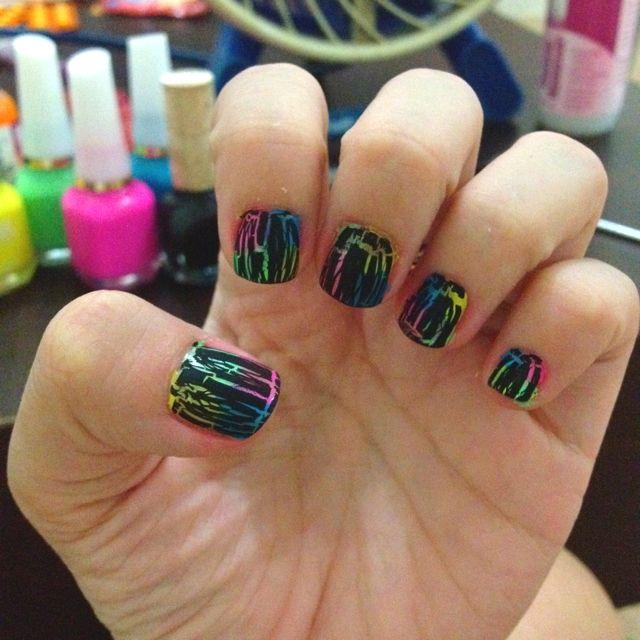 Nail art. Addiction. DIY. Crack nail polish. | It\'s A Girl Thing ...