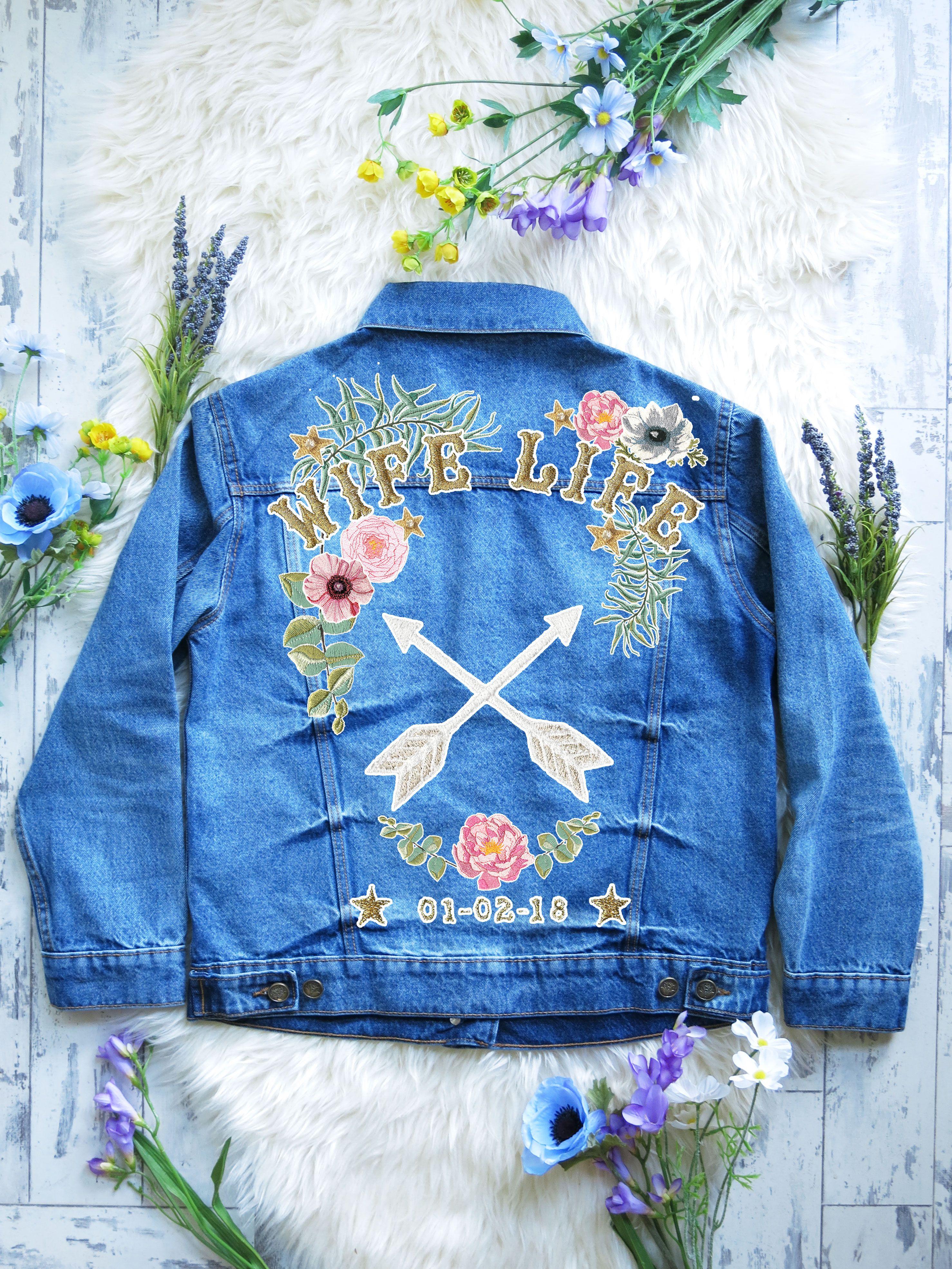 Denim bridal jacket xssml in clothes pinterest