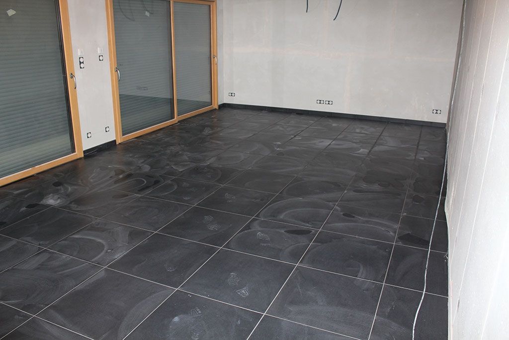 Carrelage Gris Anthracite Brillant Salon Gris Parqu Salon Design