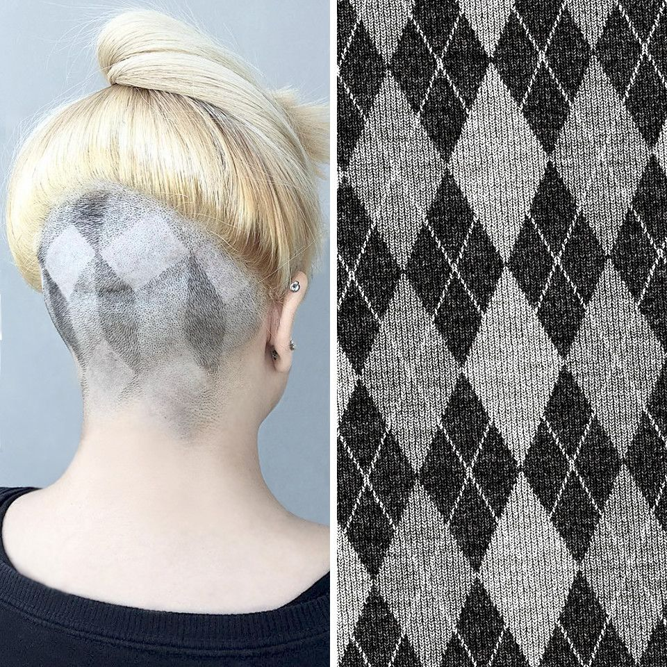 Here's to a new twist on an old pattern! Argyle originated