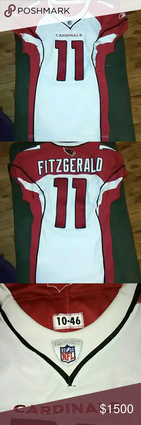 Game Worn* 2010 Larry Fitzgerald jersey Arizona cardinals Larry  hot sale