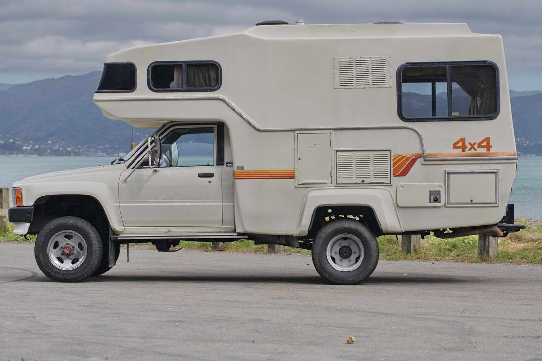 The Cost Of Van And Camper Living Vehicles Toyota Camper Rv
