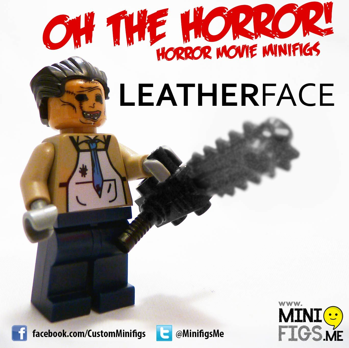 Leatherface For Lego Action Figure