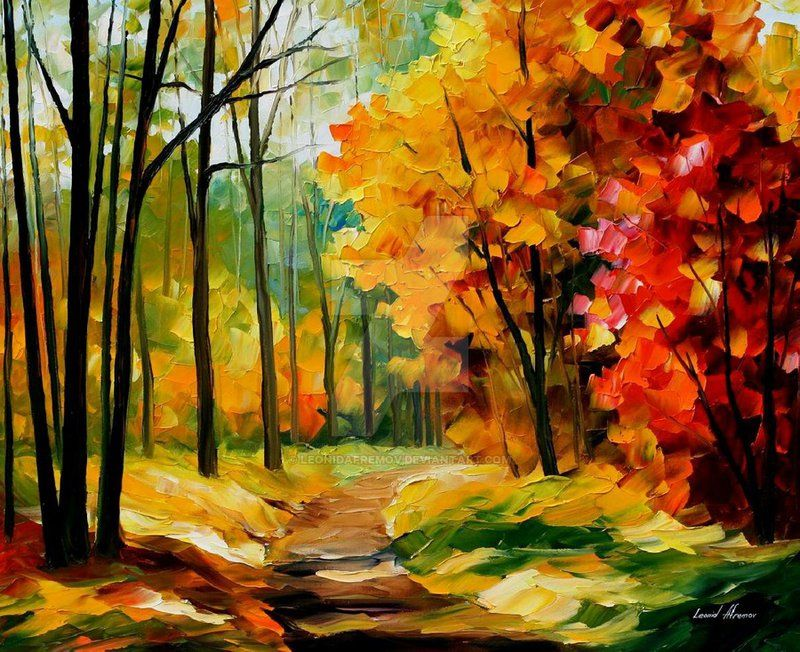the_path_of_the_heart by leonid_afremov