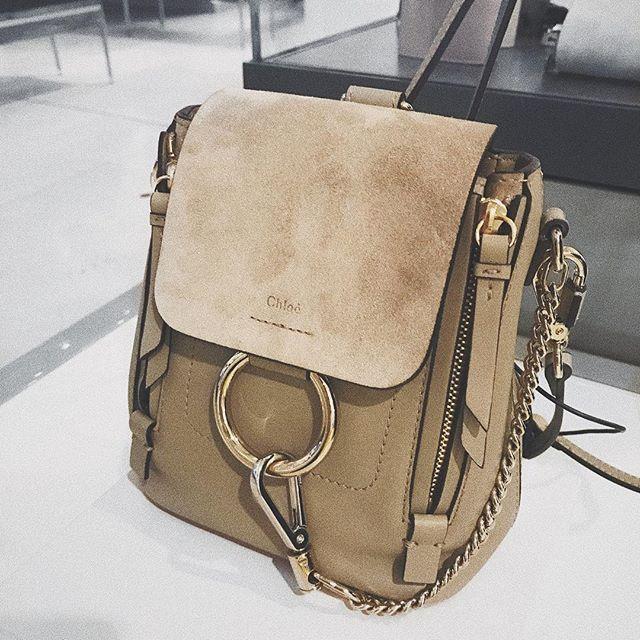 67f6151d3 I want u baby Chloé backpack ♥   Backpacks & Handbags   Pinterest ...