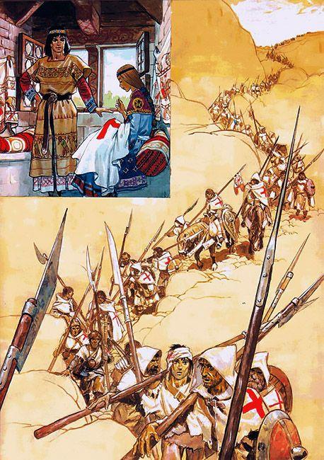 1098 - 1280 c. Crusaders by Pierre Joubert