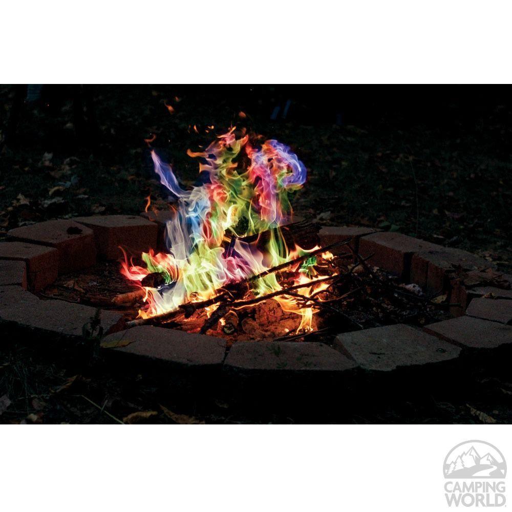 Rainbow Flame Sticks Rutland Fire Clay 715CB Fire Pits
