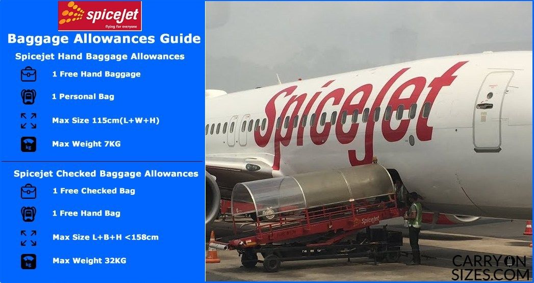 Spicejet Baggage Allowance Baggage Allowance Carry On Size