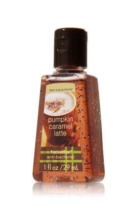Pumpkin Caramel Latte Hand Sanitizer Bath Body Works This Looks Like It Smells Yummy Bath N Body Works Bath And Body Works Bath And Body