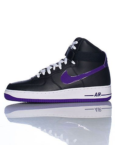 super popular 1edd7 d282a NIKE Men s high top sneaker Lace closure Signature NIKE swoosh on sides of shoe  Padded tongue Cushioned sole for ultimate comfort and performance