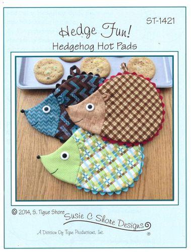 Hedge Fun! - Hedgehog Hot Pads