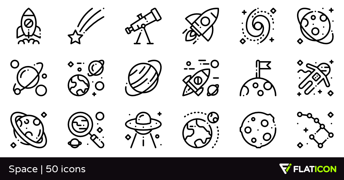 50 free vector icons of Space designed by Freepik in 2020