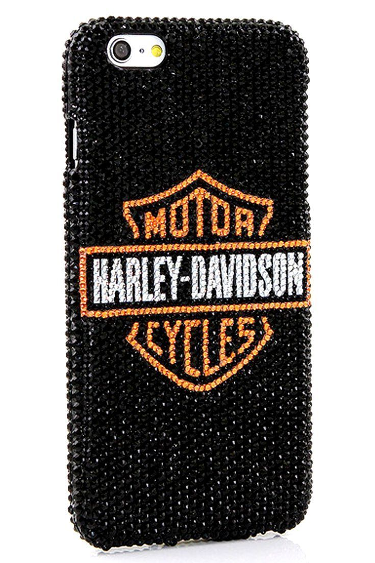harley davidson design iphone 6s plus case bling phone cover cool