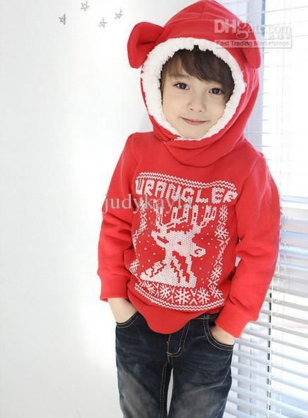 Winter Kids Clothing 2-6Year Baby Christmas Clothes thicken ...