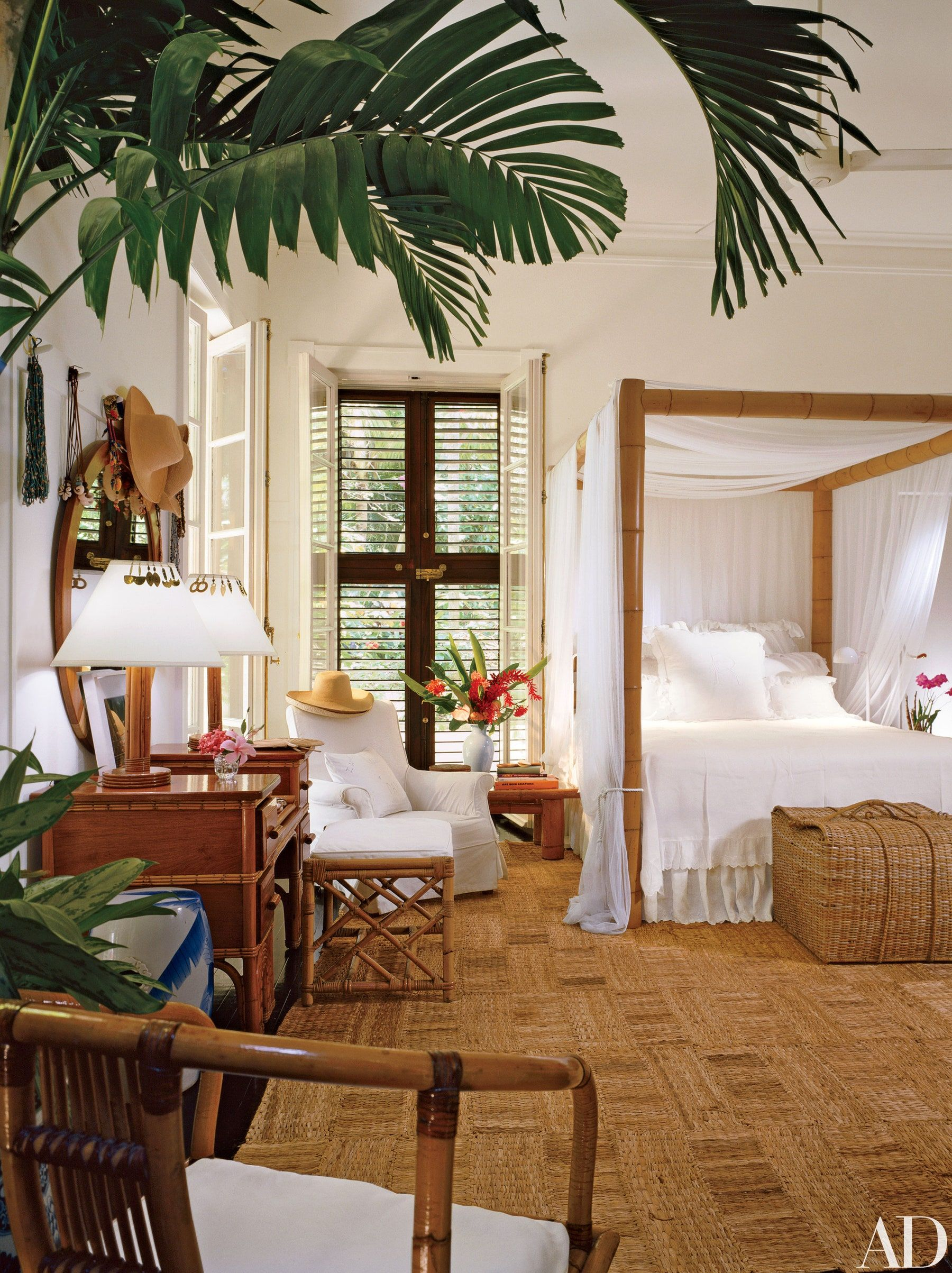 Take A Look Inside Ralph Lauren S House In Jamaica Architectural Digest British Colonial Decor Tropical Home Decor Beach House Interior