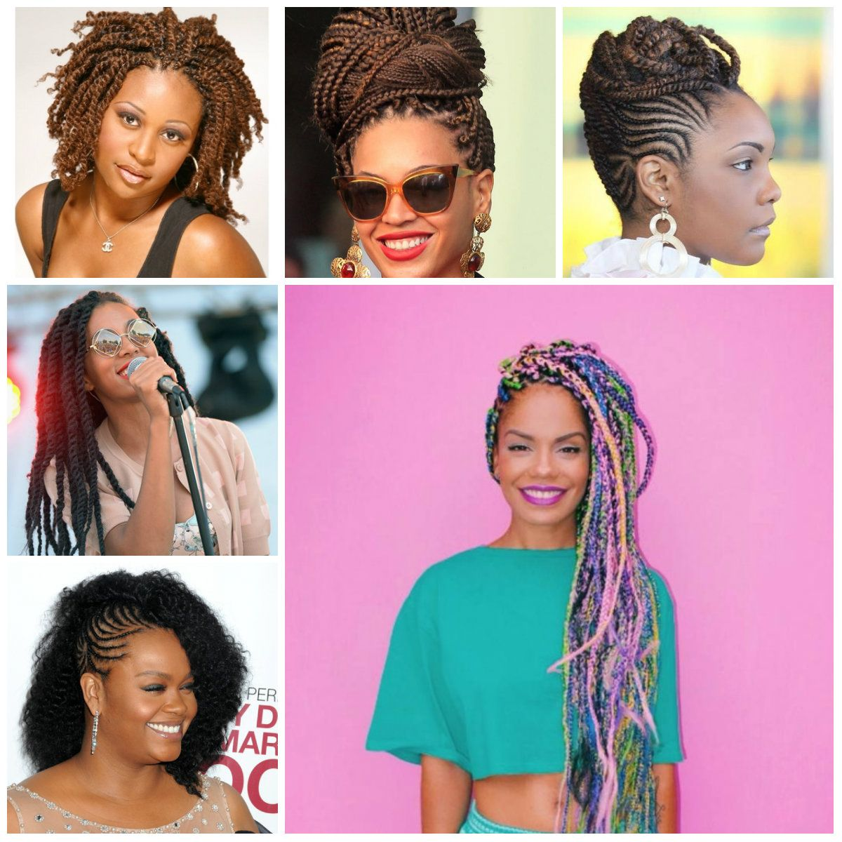 Black Braided Hairstyles For 2016 Hairstyles 2016 New Haircuts And