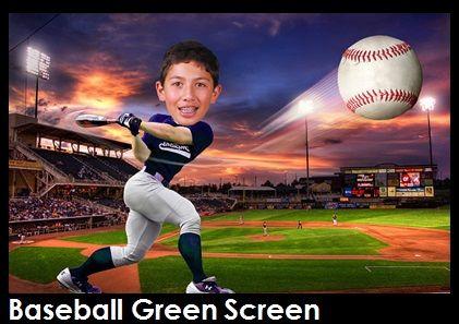 Photo Booths Green Screen Joe Diamond Events Greenscreen Baseball Backgrounds Event