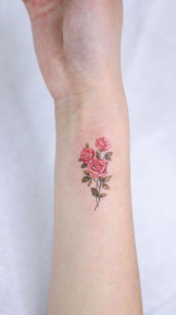 Descubra o simbolismo da ROSA e veja estas 31 tatuagens para se inspirar - Página 5 de 6 - 123 Tatuagens
