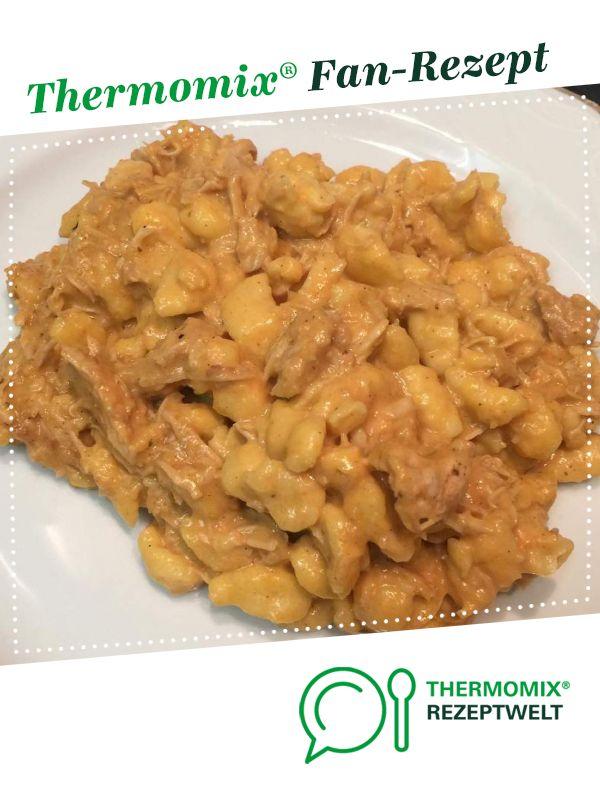 Photo of Hähnchengeschnetzeltes mit Spätzle / Pulled Chicken mit Spätzle