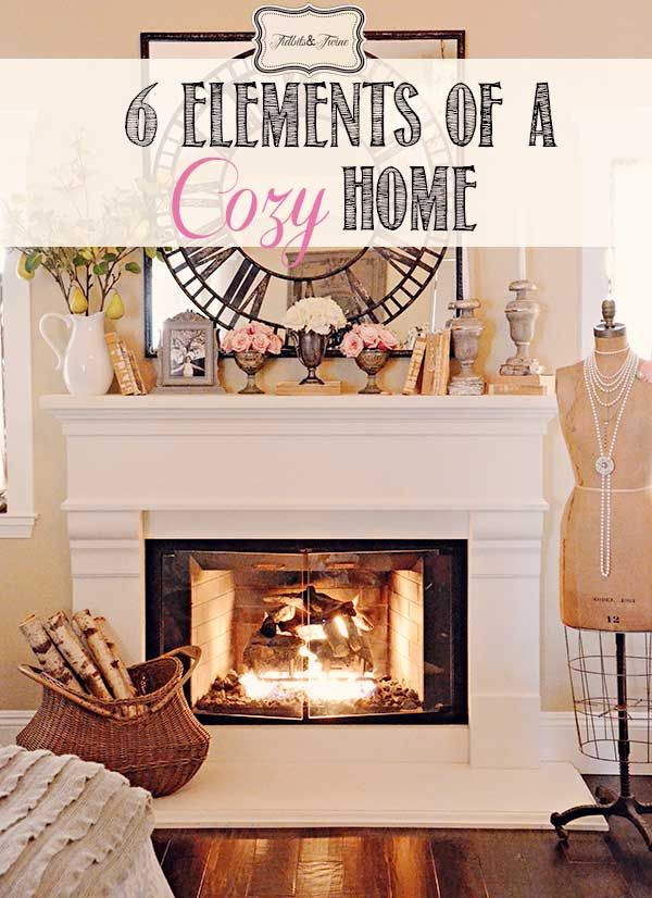 Elements of a Cozy Home #cozyhomes