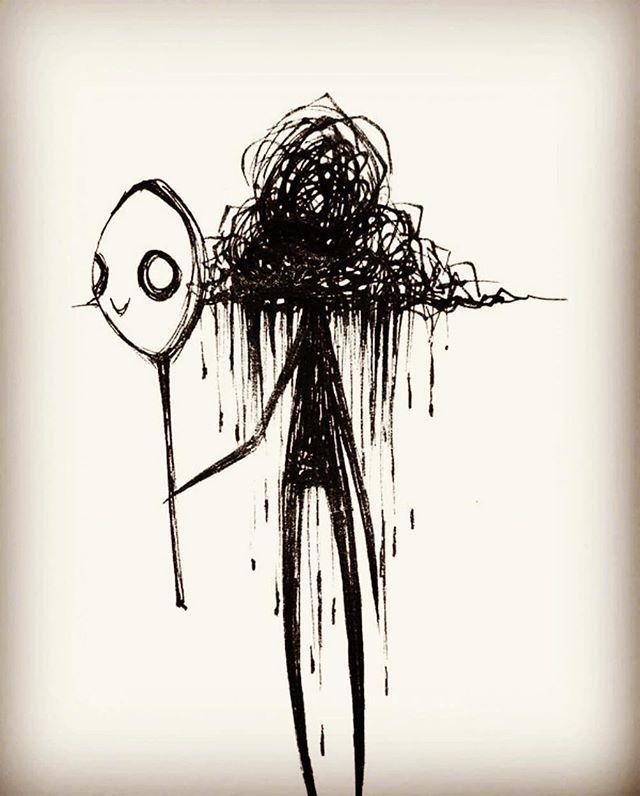 Untitled   Dark art drawings