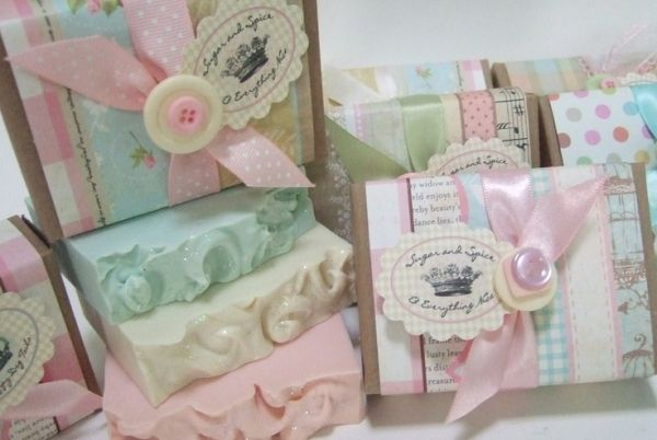 shabby chic soap favors shower favors baby soap gift basket baby rh pinterest co uk shabby chic party favors shabby chic supplies