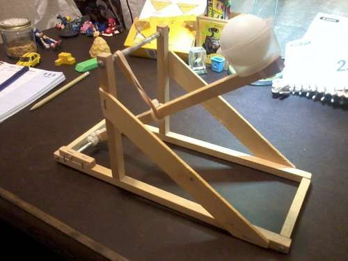 Ping Pong Ball Catapult Catapult Catapult Project Catapult For Kids