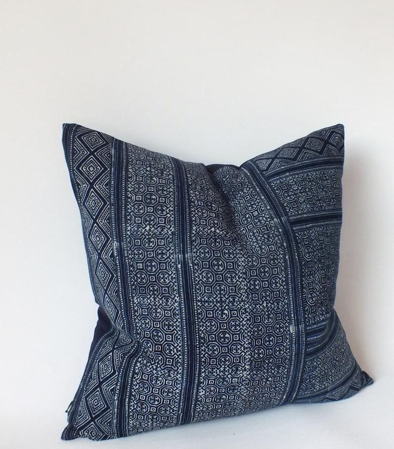 Mud cloth Pillow Cover Authentic Batik