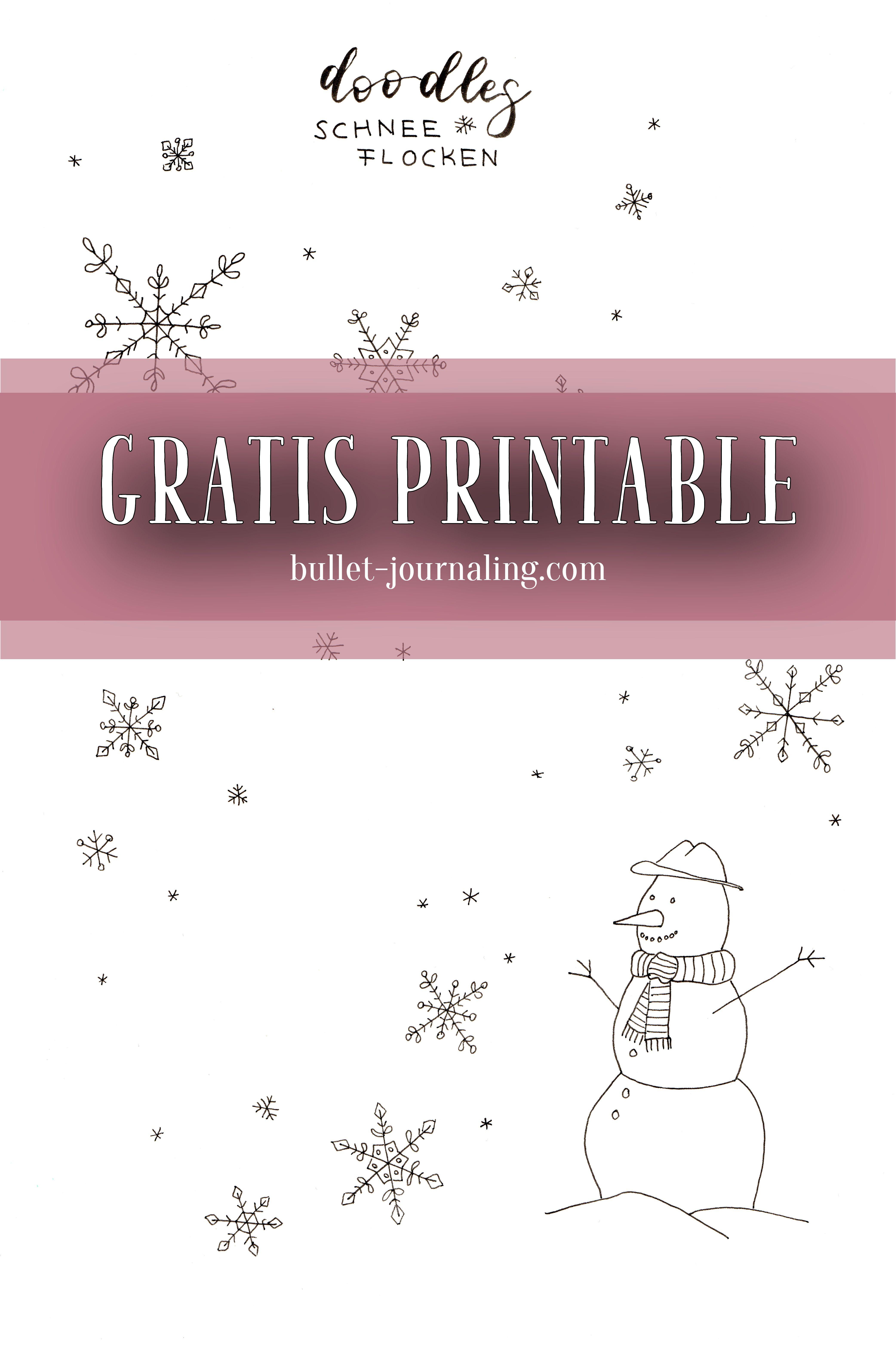 Free Printable Gratis Handmade Vorlage Einfach Herunterladen