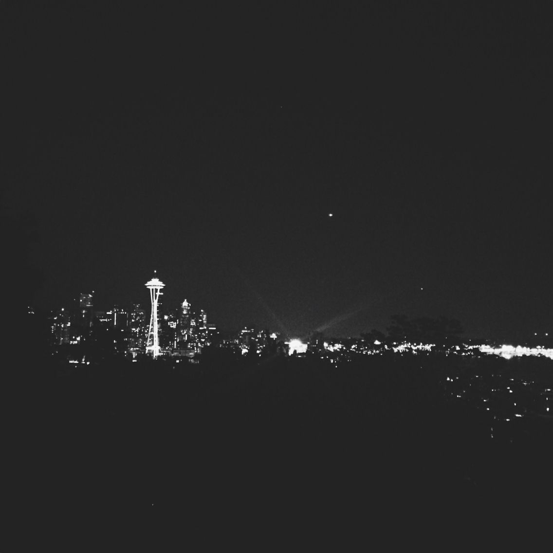 Seattle Skyline at night | VSCOcam