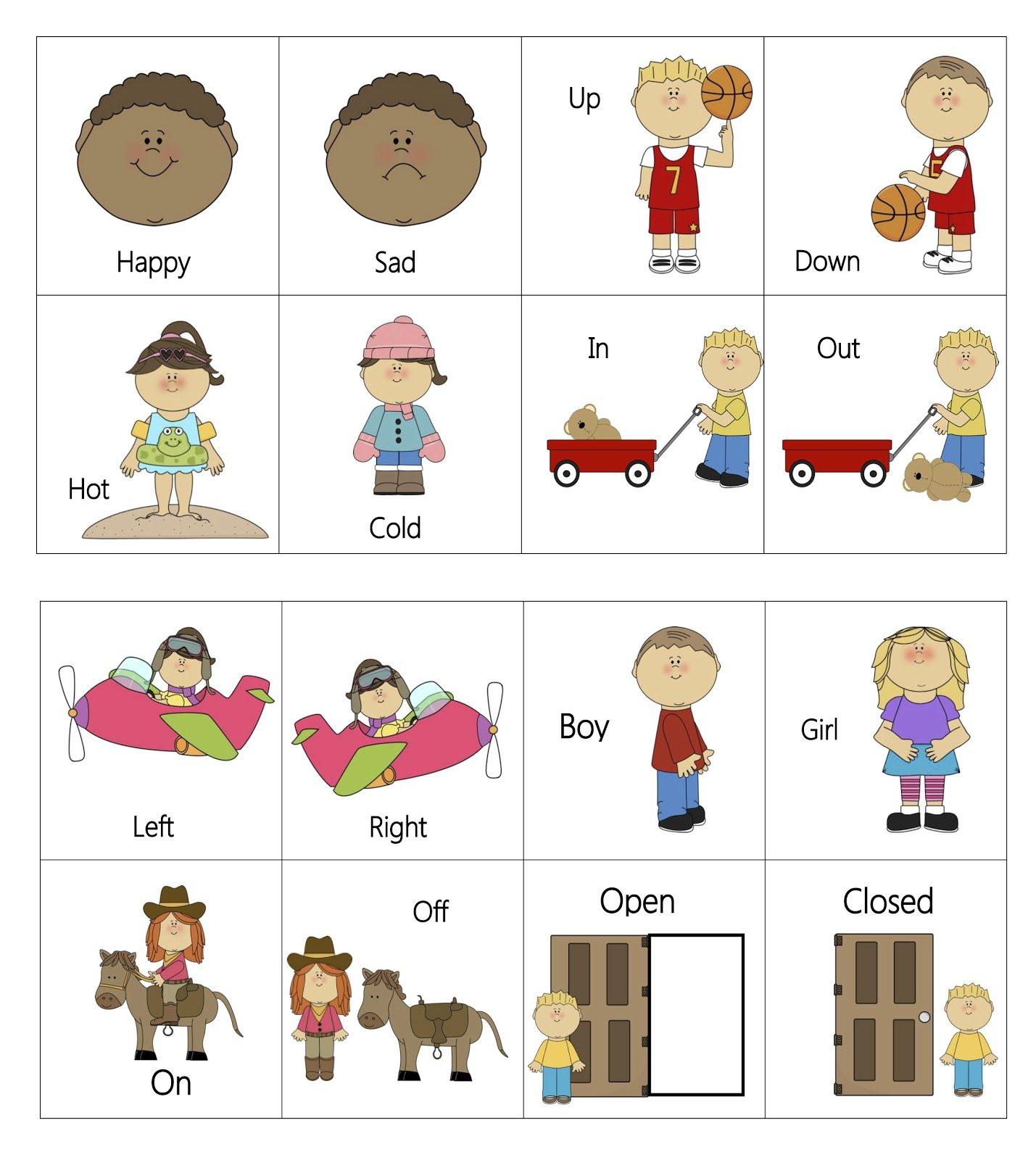Worksheet Opposites For Preschool 1000 images about opposites preschool theme on pinterest opposite words kids songs and kid printables