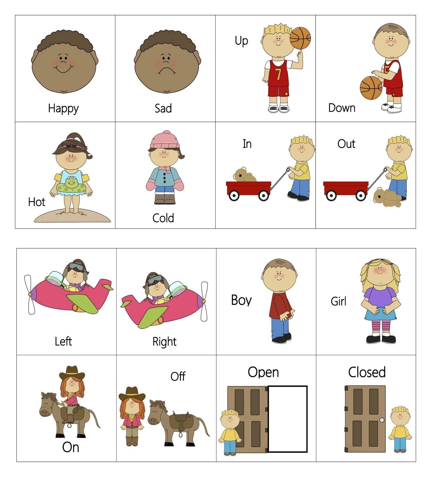 Preschool Activities for Opposites - Bright Hub Education