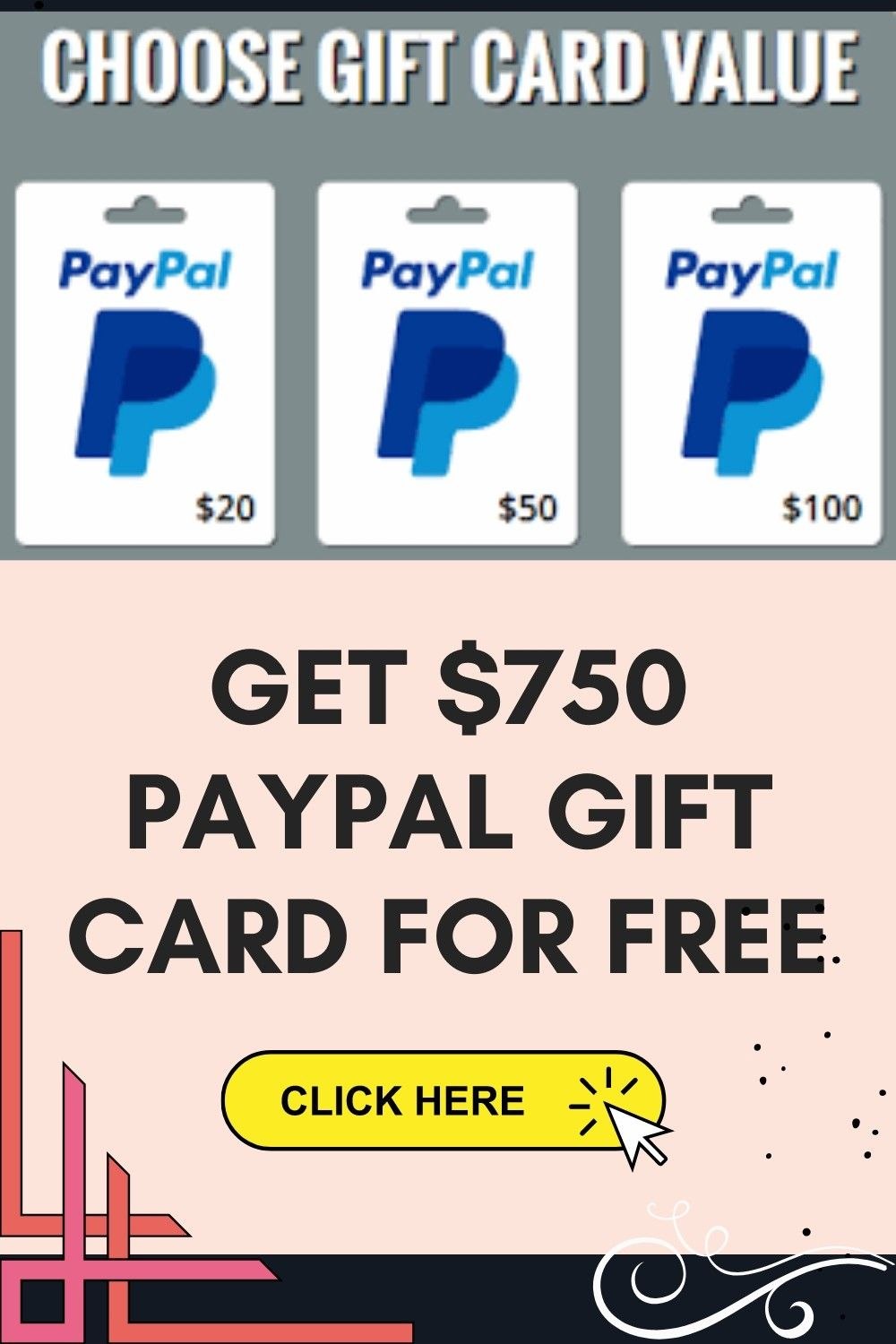 Free 750 paypal gift card giveaway in 2021 paypal gift