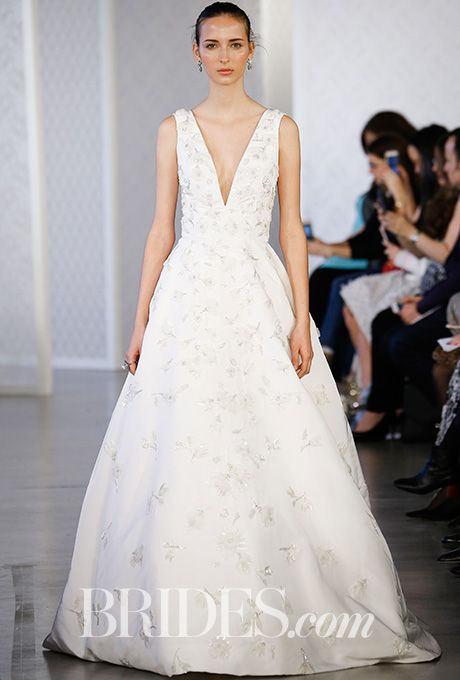 Oscar de la Renta Spring 2017 Wedding dress Bridal fashion