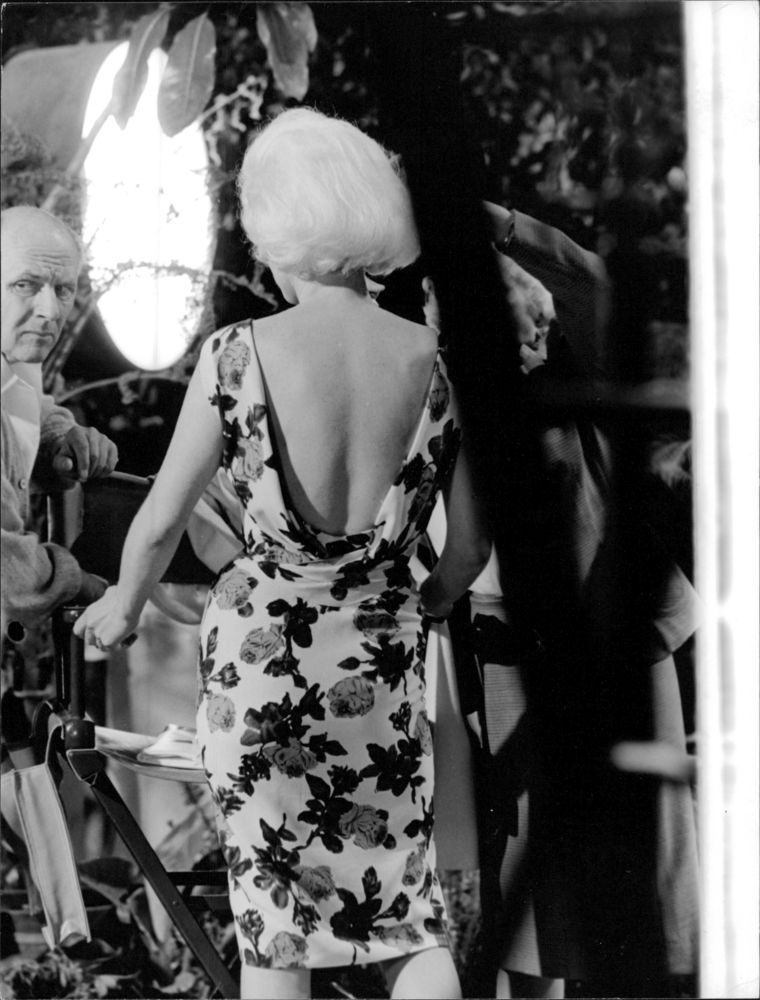 Marilyn On The Set Of Something S Got To Give 1962 Marilyn