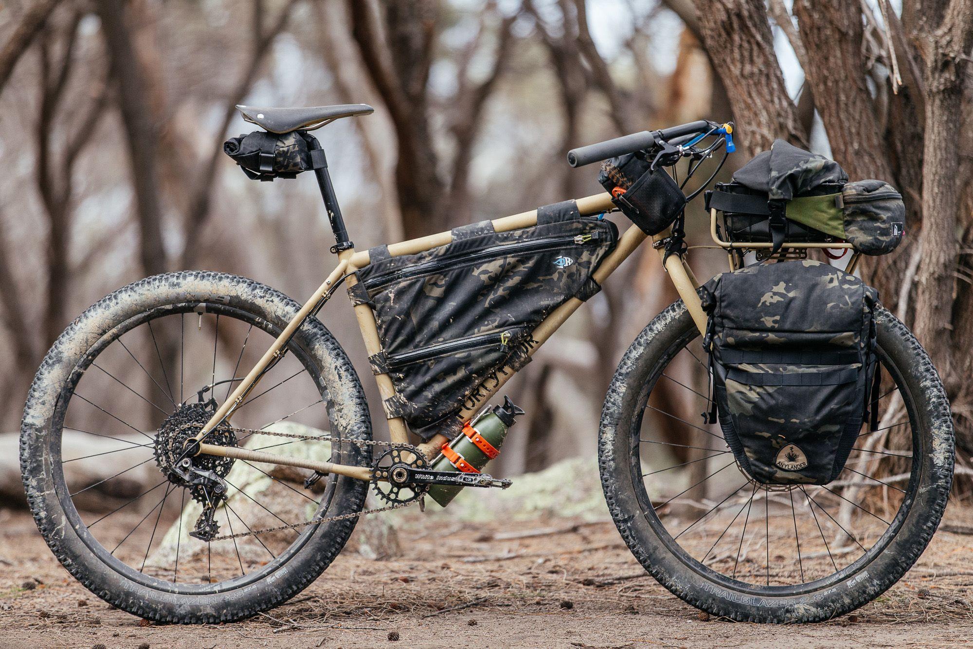 My Bush Blasted 44 Bikes Ute Rigid Mtb Tourer Hardtail